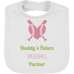 Daddy's Future Baseball Partner