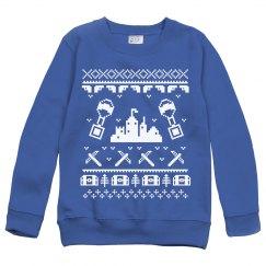 Fortnite before Christmas Kids Sweatshirt