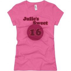 Julie's Sweet 16
