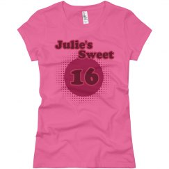 Julie's Sweet 16
