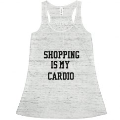 Shopping Cardio Racerback