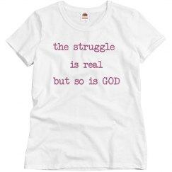 The struggle Tee