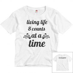 Youth Living Life Tee