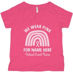 We Wear Pink Virtual Event Plus Tank