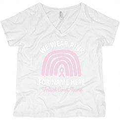 We Wear Pink Virtual Event Plus Tank