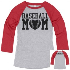 Custom Baseball Mom