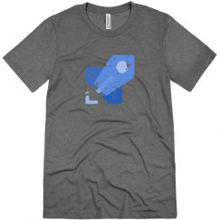 Azure Pipelines Tee Ice Blue Triblend