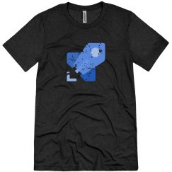 Azure Pipelines Tee Charcoal Triblend