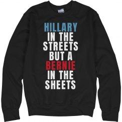 Hillary Streets Bernie Sheets