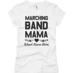 Marching Band Mama Custom School Top