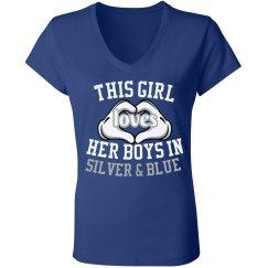 Loves Silver & Blue