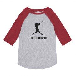 Funny Baseball Touchdown Shirts