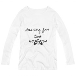 Dancing for two long sleeve