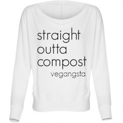 straight outta... dolman top