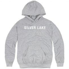 SILVER LAKE Adult unisex hoodie