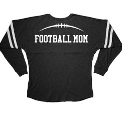 Football Mom Over The Shoulder Jersey Print