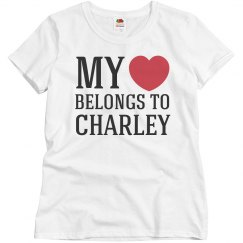 Heart belongs to Charley