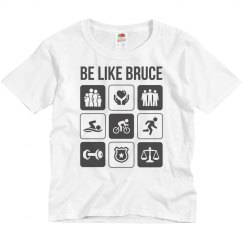 Youth - Be like Bruce T-shirt