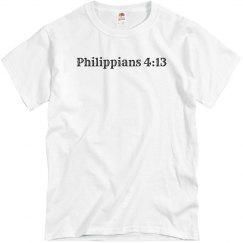 PhilIppians 4:13 UNISEX Tee