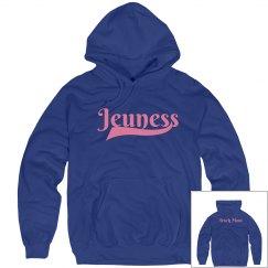 Jeuness Royal Blue Hoody (Track Mom)