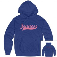 Jeuness Royal Blue Hoody (Grandad)