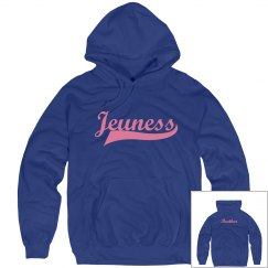 Jeuness Royal Blue Hoody (Track Brother)