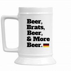 Beer Brauts Oktoberfest