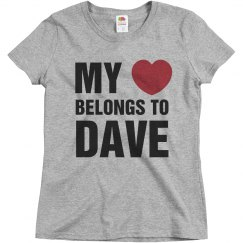 My heart belongs to Dave