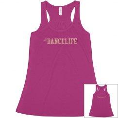 #DanceLife flowy tank