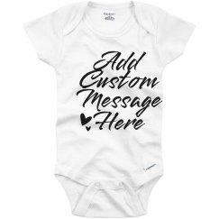 Custom Message Cute Custom Script