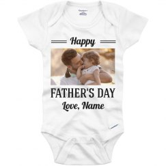 Custom Photo Father's Day Outfit