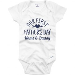 Custom Name & Daddy Father's Day