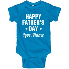 Cute Fathers Day Custom Outfit Gift