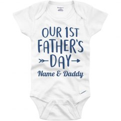 Our 1st Father's Day Custom Outfit