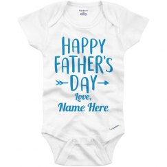 Father's Day Custom Boy Outfit