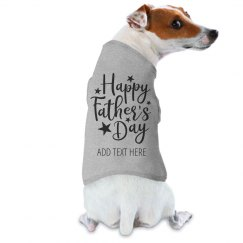 Happy Father's Day Dog Tee