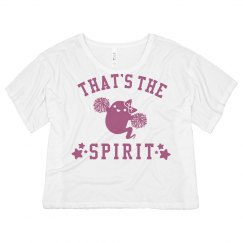 Cheerleading That's The Spirit Neon Tee