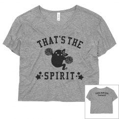 Custom Cheerleader That's The Spirit Flowy