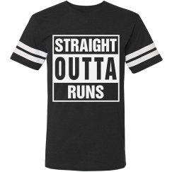 Straight outta runs