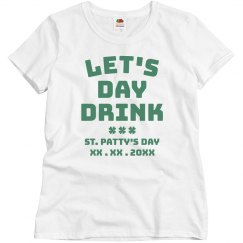 Customizable Let's Day Drink