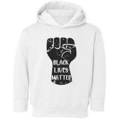 Black Lives Matter Toddler Hoodie Sweatshirt