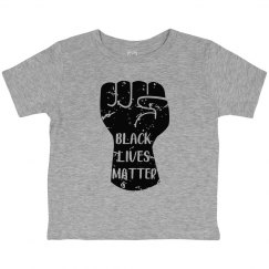 Black Lives Matter Fist Toddler T-Shirt