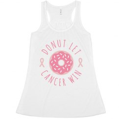 Donut Let Cancer Win Crop
