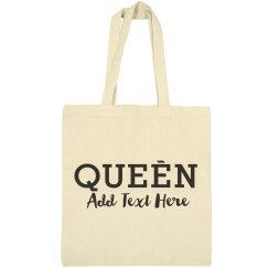 Custom Queen Beach Vacation Gift