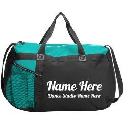 Custom Name & Dance Studio Bag