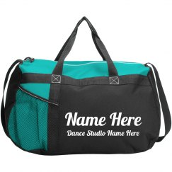 Custom Name & Dance Studio Bag
