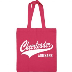 Cheer Custom Name Cheerleader Bag