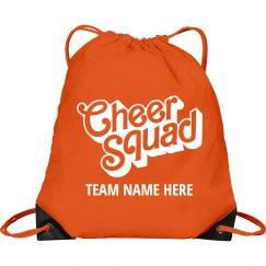 Cheer Squad Custom Team Bag