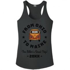 Ladies Athletic Performance Racerback Tank