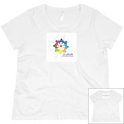 "Women's Plus short sleeve ""There is a Healer in Me"""